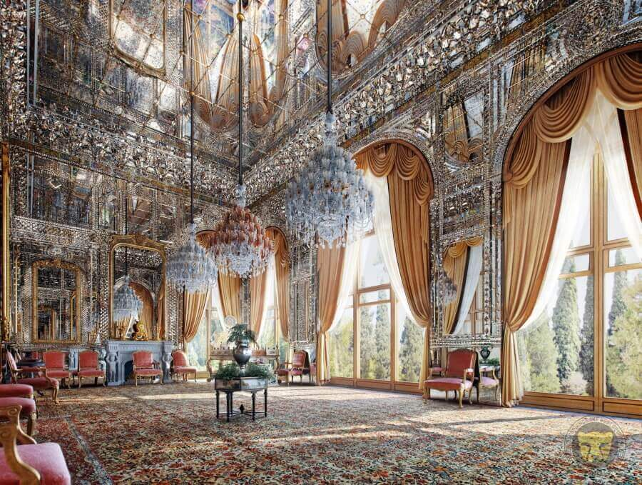 1- the golestan palace tehran cultural tour iran travel 3