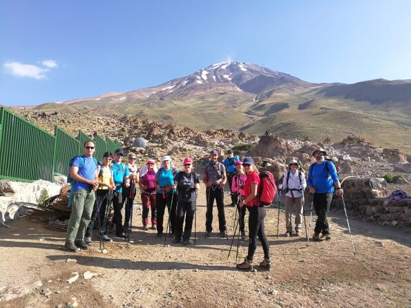 Damavand tour package trekking climbing mount peak