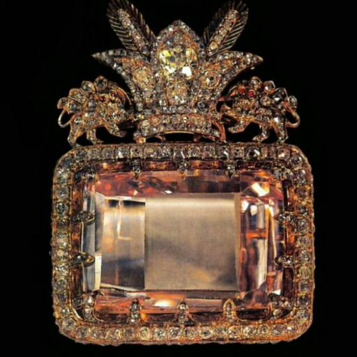 Daria-i-Noor Darya-ye Noor largest cut diamonds in the world iran cultural tour