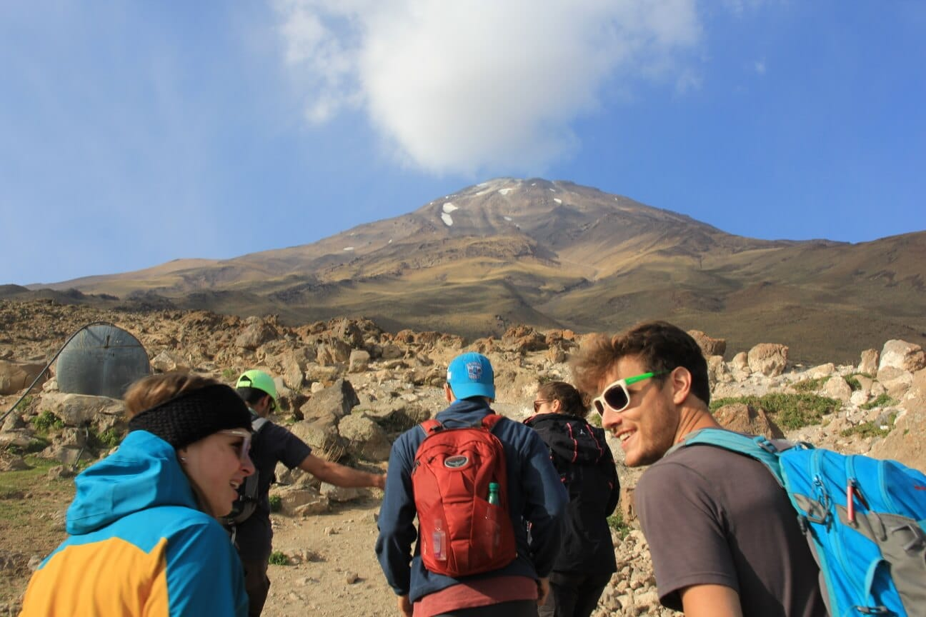 Mount Damavand Tour Climb mountain iran travel agency private Cheetah adventures expedition trekking 3