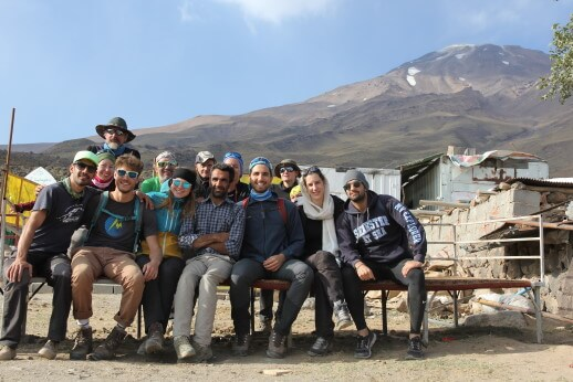 Rineh Village Damavand tour package Basecamp goosfandsara mount damavand trip 1