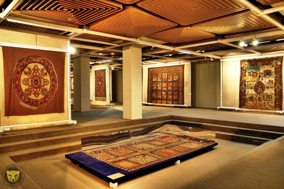 carpet-museum-of-tehran iran cultural tour cheetah travel