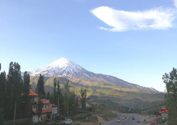 climb Damavand tour package trekking private tour rineh plur village small