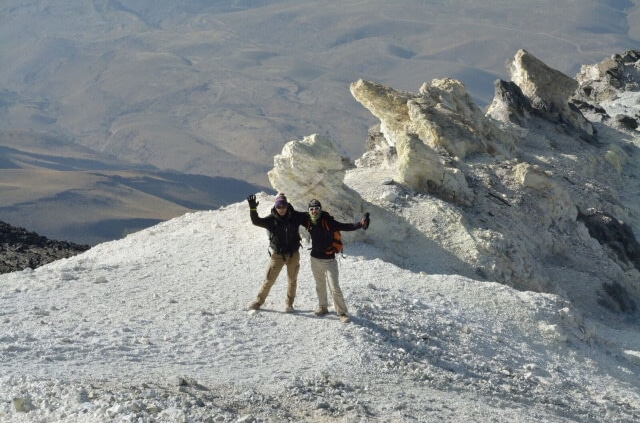 damavand classic trip tour package iran mount cheetah adventures