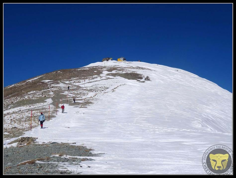 5-The last 100 meters to Tochal Peak (3960m)