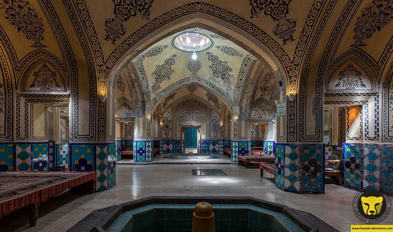 1- Baños_del_Sultán_Amir_Ahmad,_Kashan,_Irán bathhouse iran culture tour