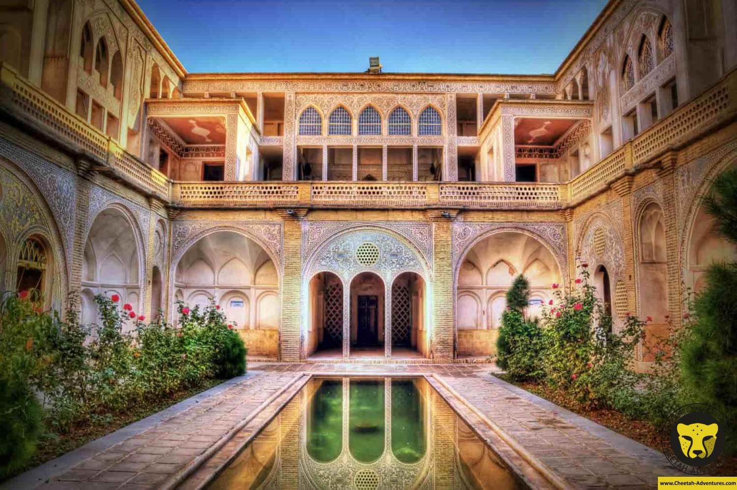1- abbasian house kashan culture tour package trip