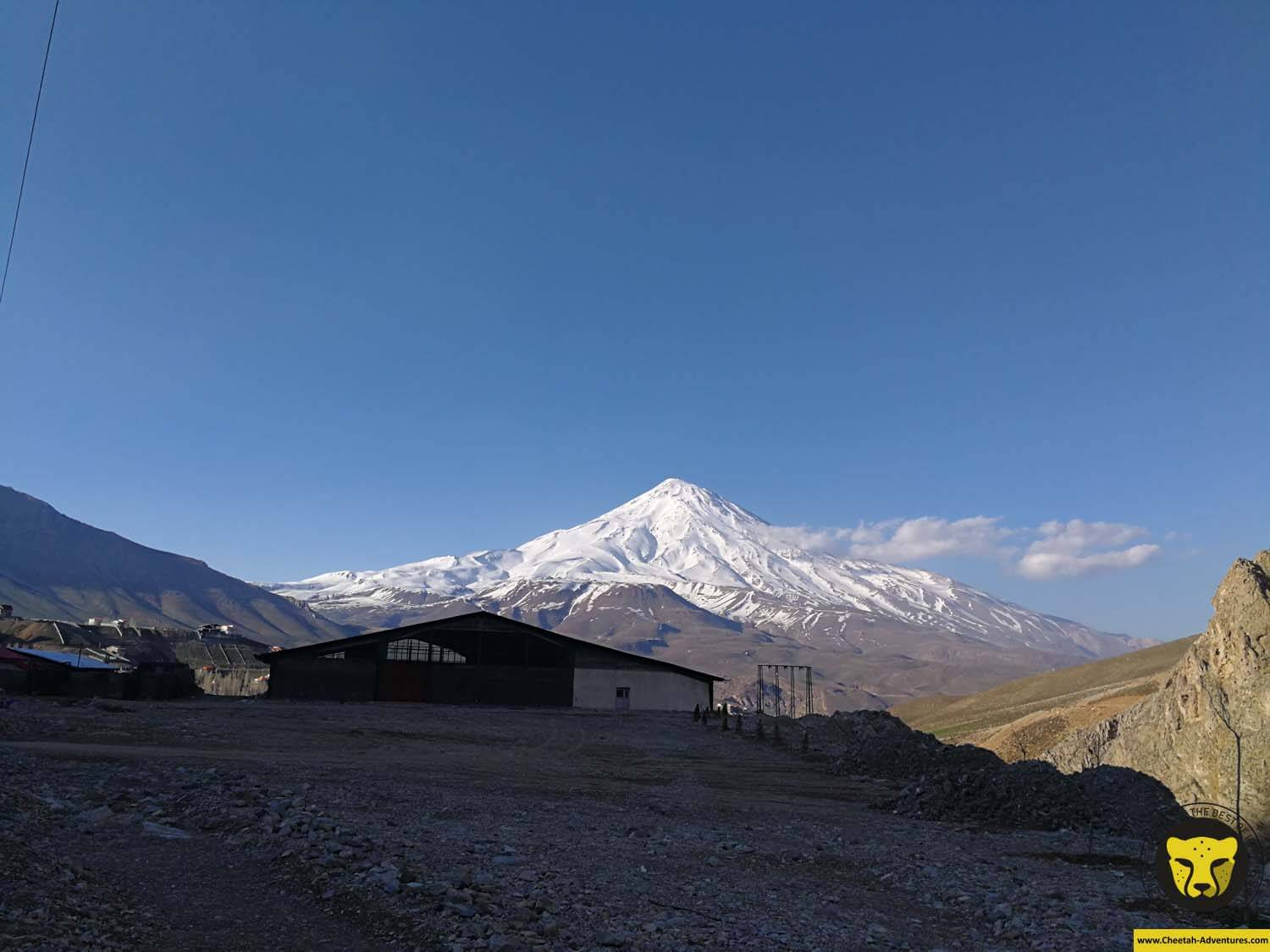 2 Mount Damavand (5610m), Haraz Road, Polur, Damavand Ski Tour