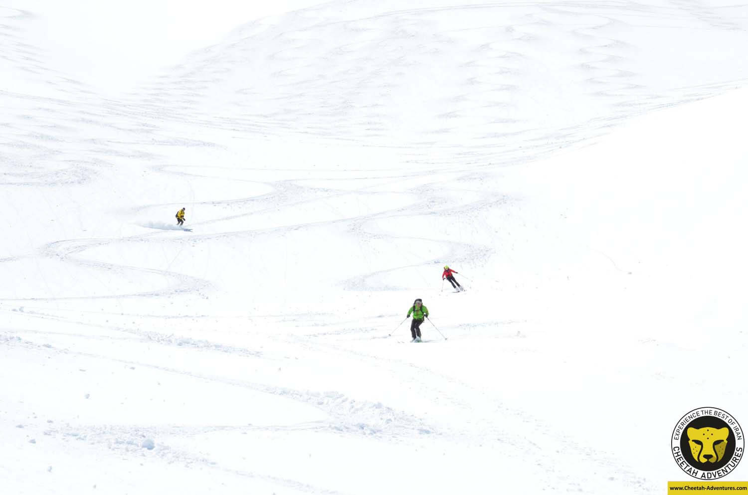 3 Enjoy Skiing on powder snow, Doberar Mountain Range, Ski Touring