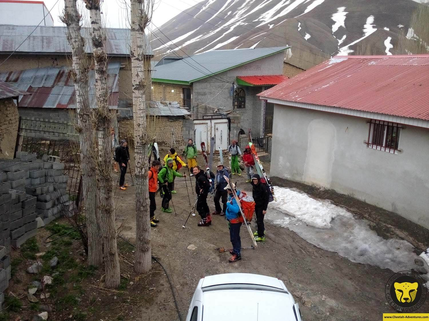 3 Lasem Village (2700m), Getting ready for Ski Touring on Doberar Mountain Range