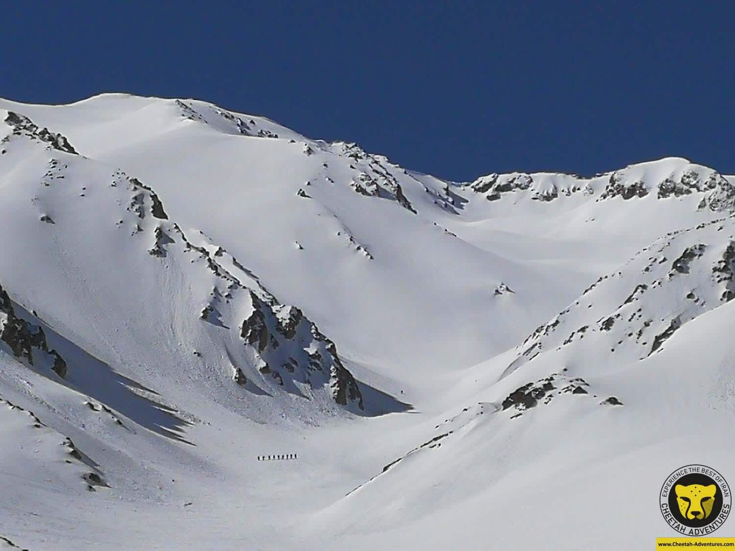 4 Ski Touring On Doberar Range, to the summit of Doberar (4250m), Acclimatization for Damavand Ski Touring