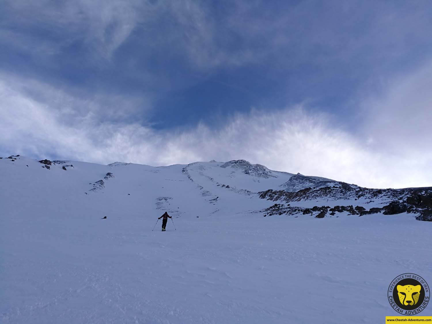 6-1 Damavand Summit Day, Ski touring from Bargah-e Sevom Hut
