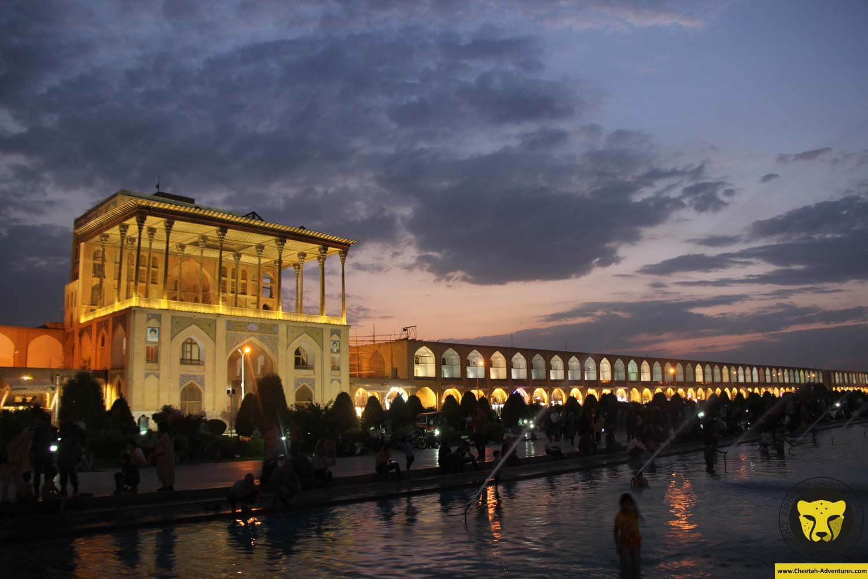 Aliqapu (Aali Qapu) Palace, Naghsh-e Jahan Square, Isfahan, Iran Tour