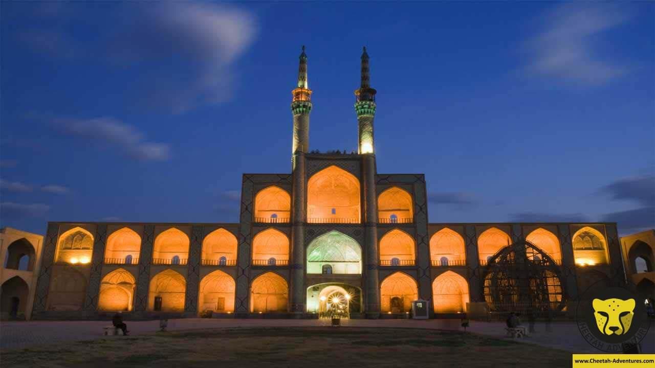 Amir chakhmaq Complex square yazd cultural iran tour visit travel cheetah adventures