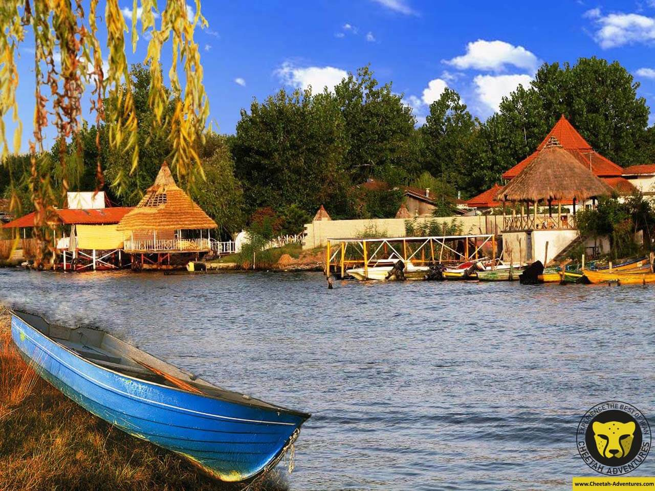 Anzali Lagoon rasht iran tour package travel cheetah adventures