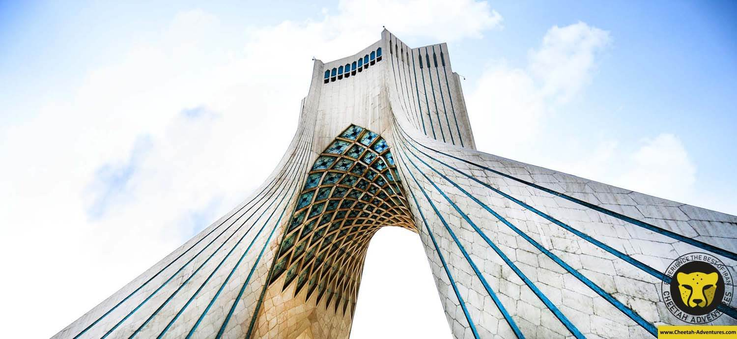 Azadi-Tower-Borj-e-Azadi Tehran Tour Iran Travel Agency Cheetah Adventures