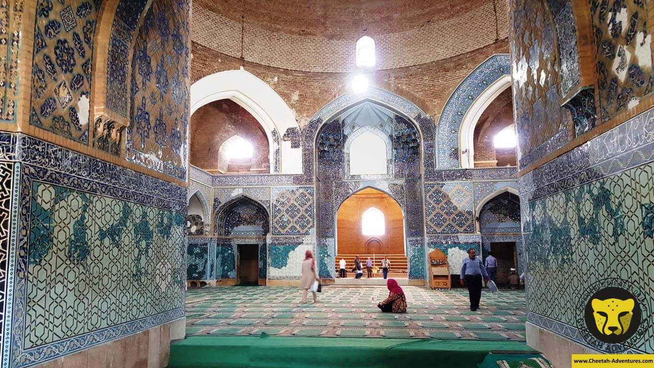 Blue-Mosque-Tabriz-Iran tour iran travel guide destinations things to see cheetah adventures
