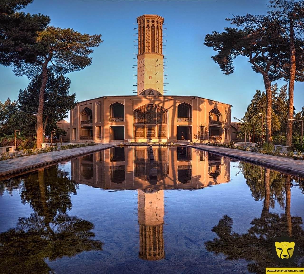 Dowlat Abad Garden Dolat Abad Garden yazd travel guide iran tour cheetah adventures