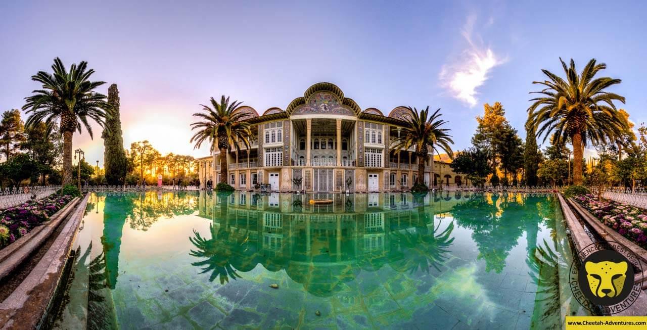 Eram Garden Shiraz tour visit iran package travel cheetah adventures