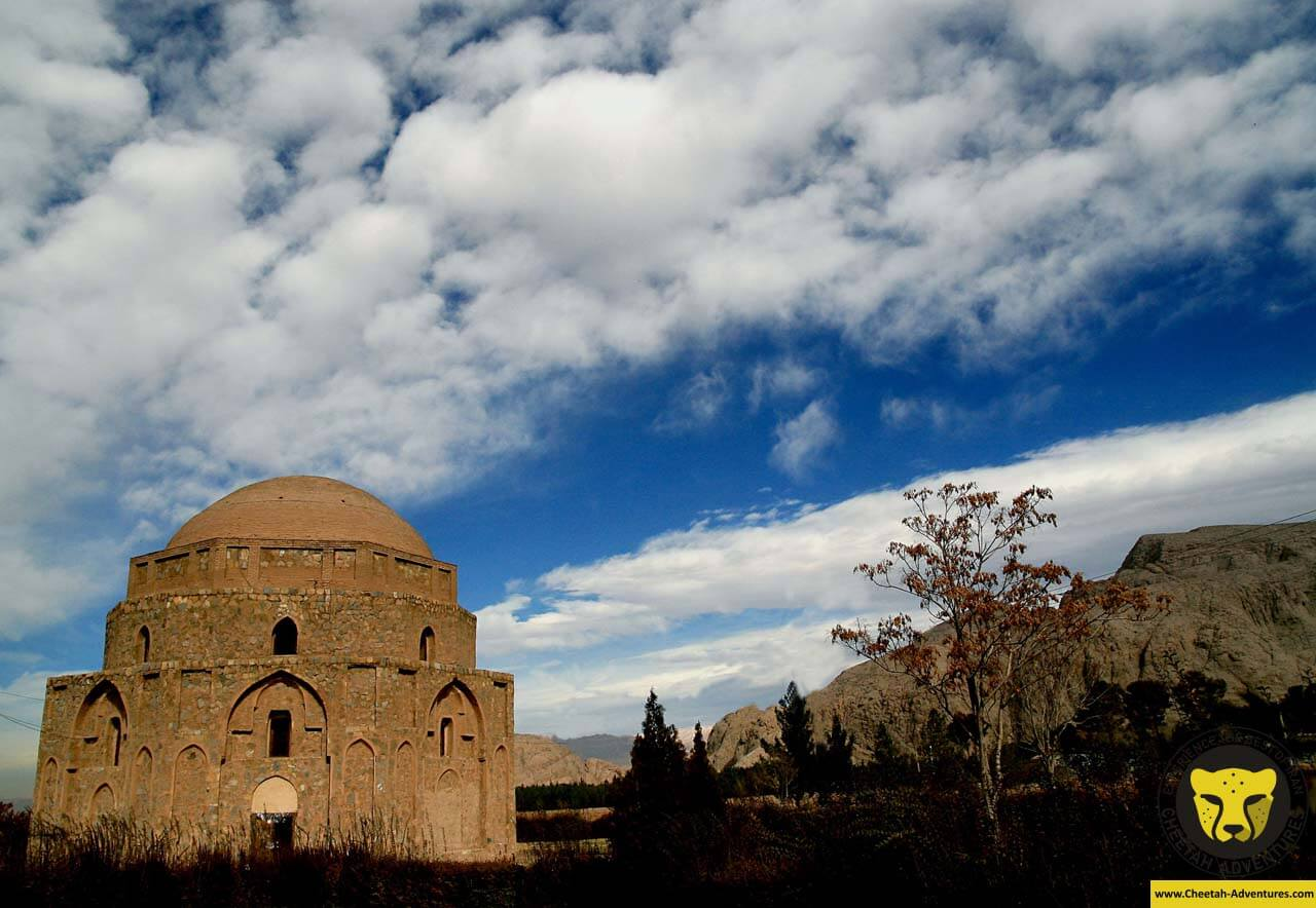 Gonbad-e Jabliye kerman travel guide iran tour package Cheetah adventures