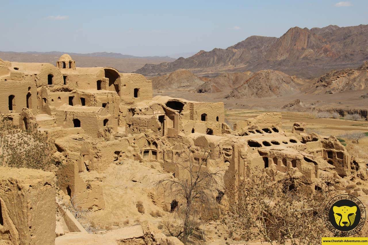 Kharanaq village castle yazd tour guide iran travel cheetah adventures