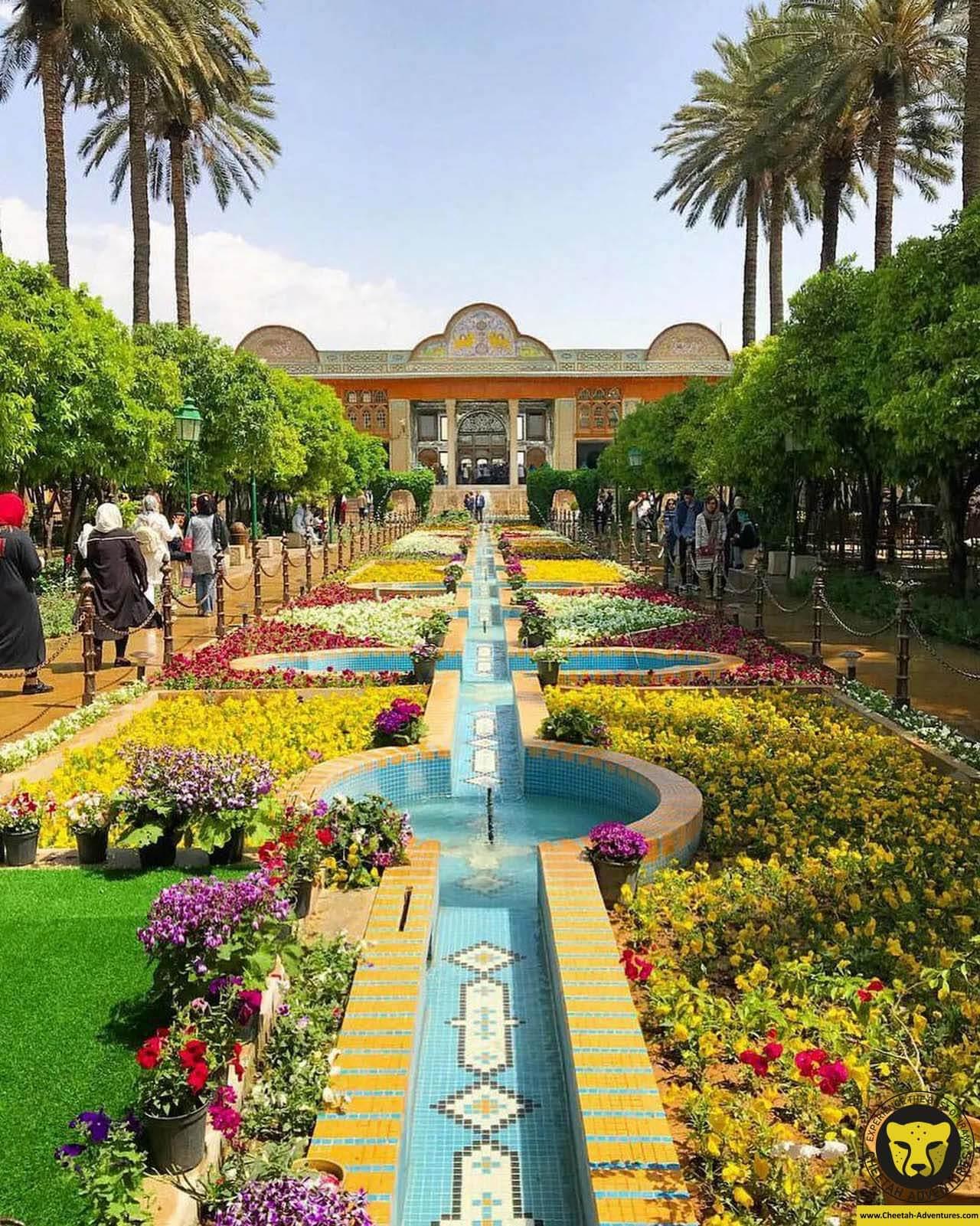 Naranjestan Garden ( Bagh-e Naranjestan) Naranjestan ghavam shiraz cultural tour visit iran tour package cheetah adventures