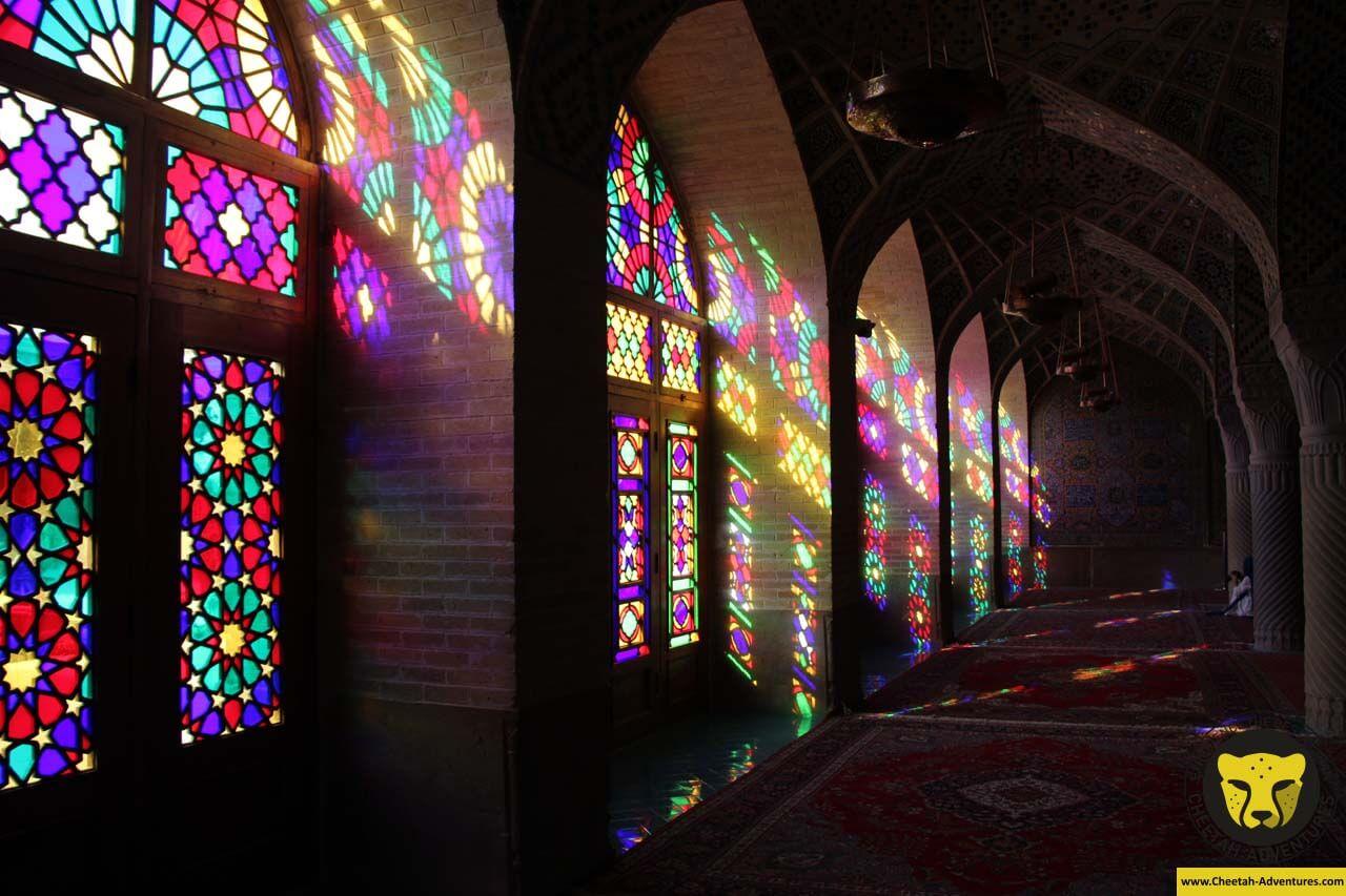Nasirolmolk pink Mosque Shiraz Iran Culture tour
