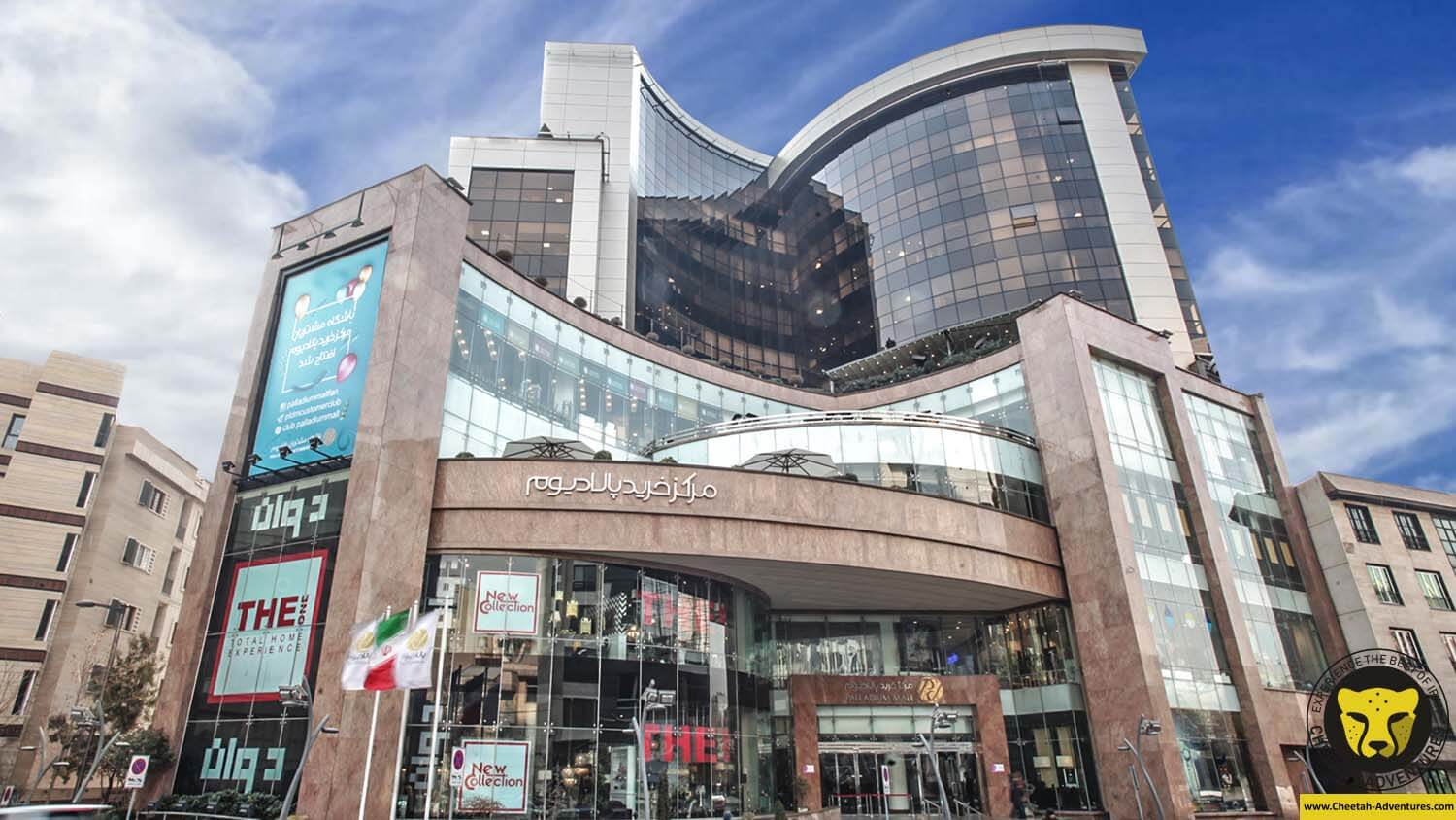 Paladium mall tehran tour