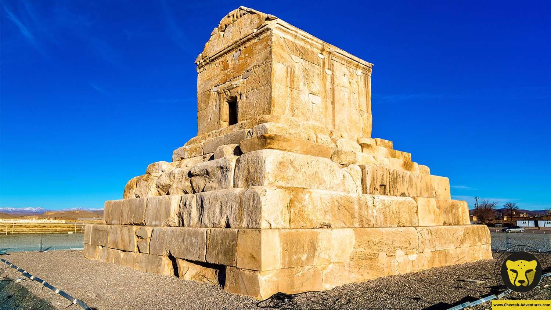 Pasargadae tomb of cyrus Shiraz Iran Cultural tour travel