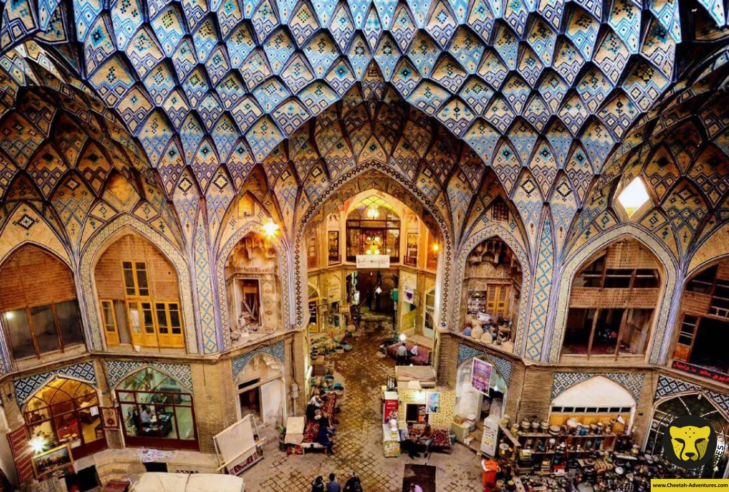 Qeysarie Bazaar the Grand Bazaar of Isfahan tour package visit iran cheetah adventures