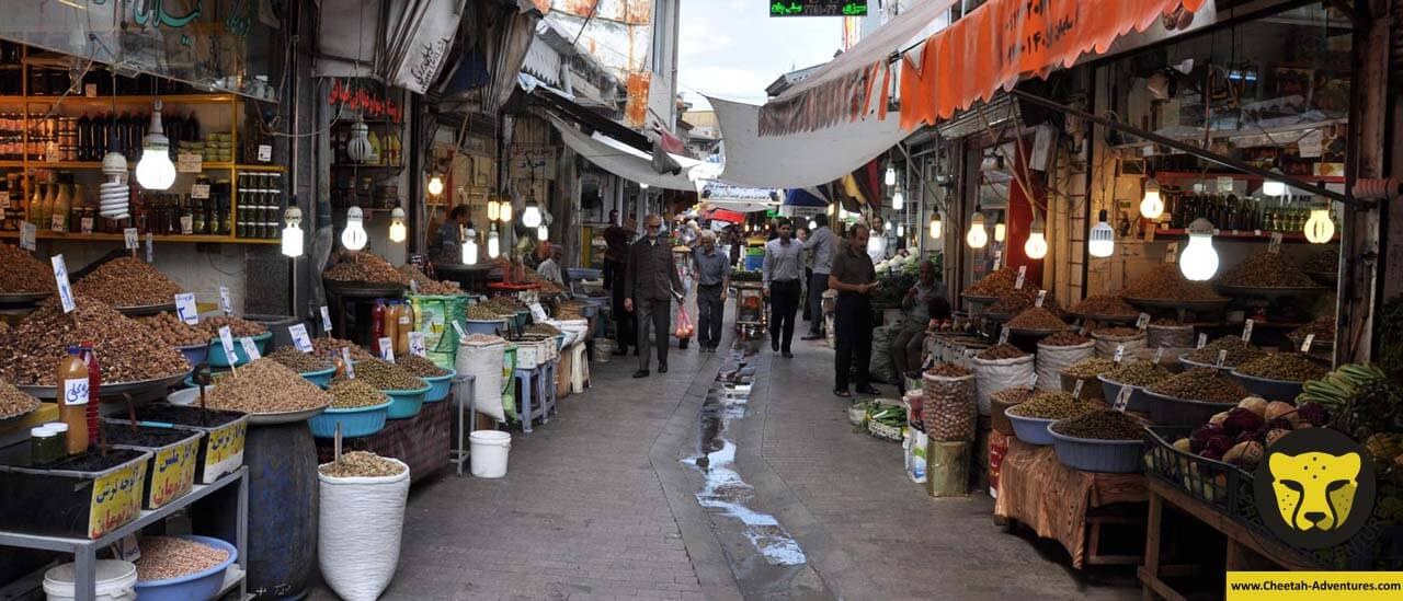Rasht Grand Bazaar iran tour package travel iran visa cheetah adventures
