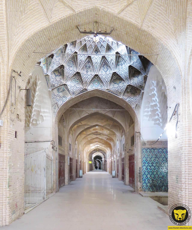Sartasari Bazaar or Grand Bazaar of Kerman travel guide iran tour package Cheetah adventures 2