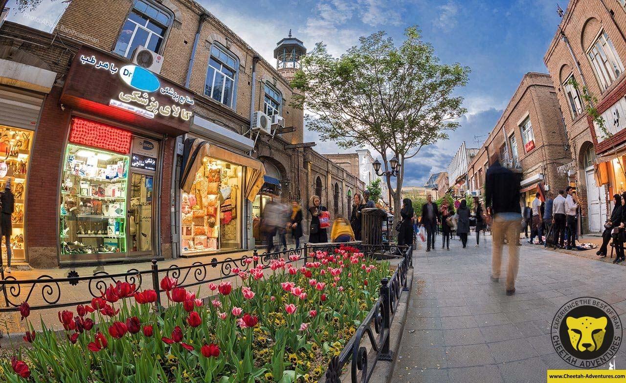Shahryar pedestrian street tabriz iran tour 2