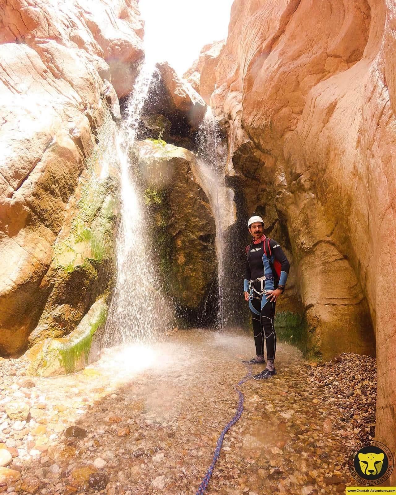 Simek waterfalls kerman travel guide iran tour package Cheetah adventures
