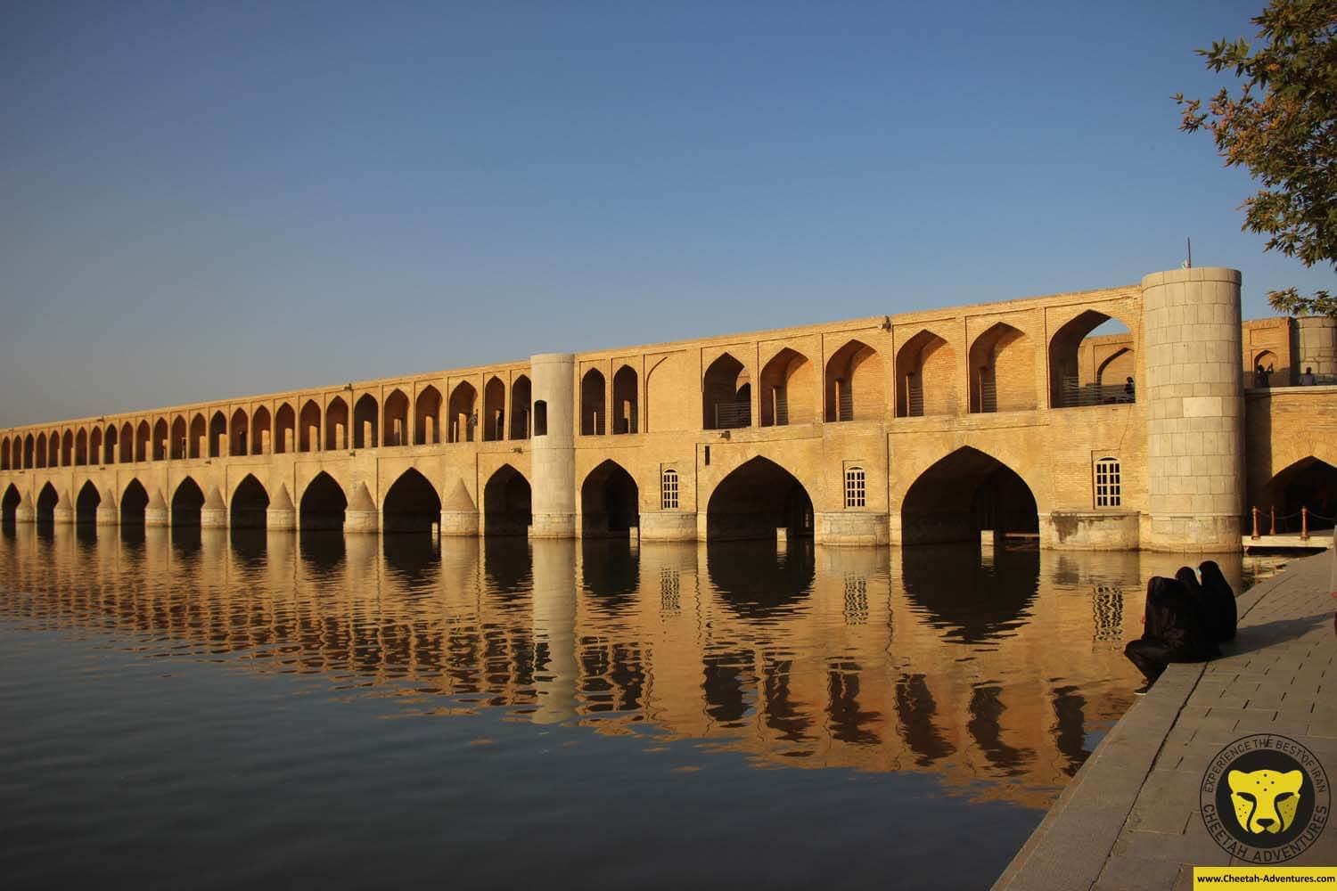 Siosepol Bridge, Isfahan, Iran Tour