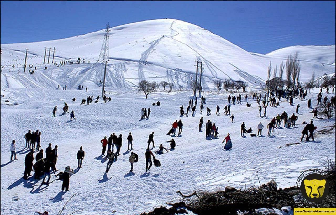 Sirch ski resort travel guide iran tour package Cheetah adventures