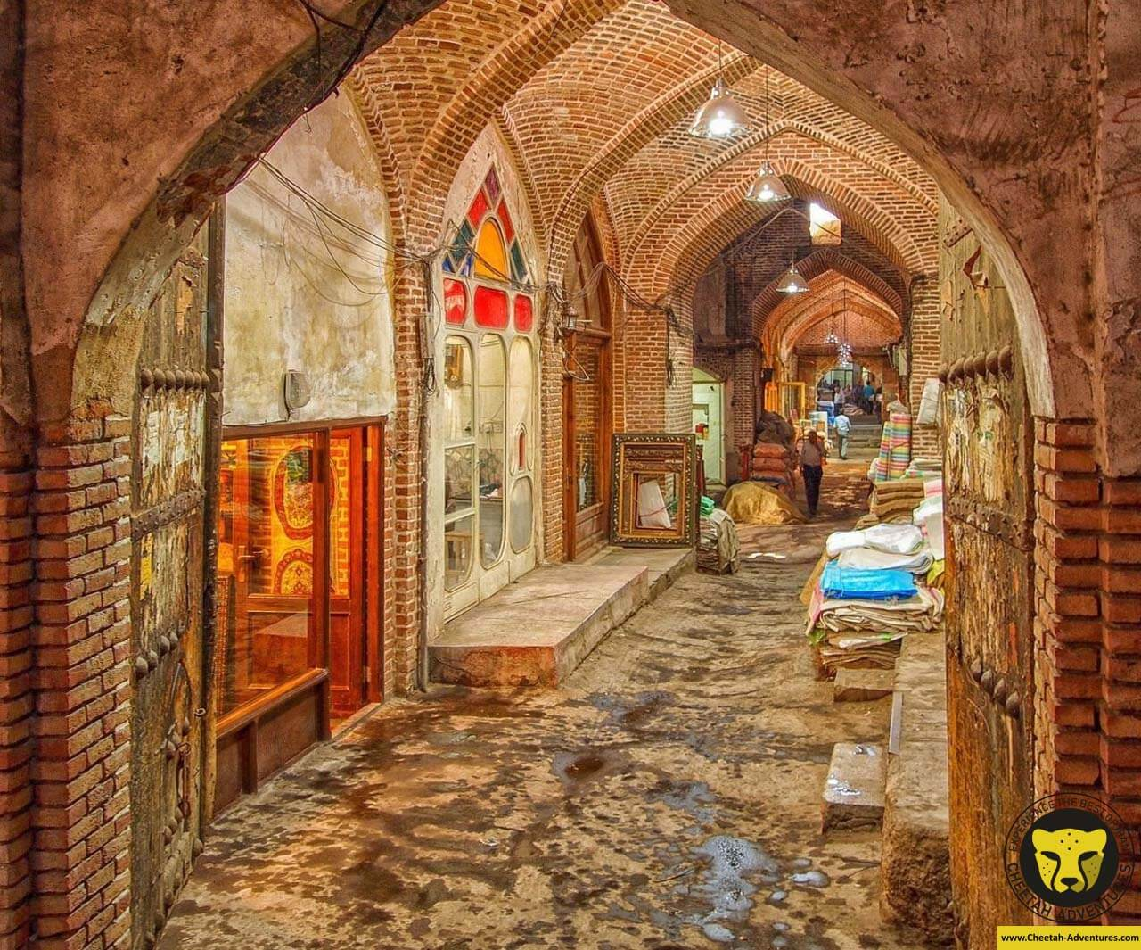 Tabriz Bazaar iran tour travel destination guide cheetah adventure