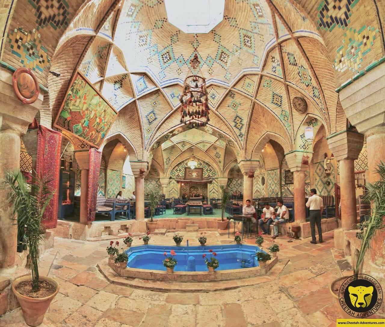 Vakil teahouse kerman travel guide iran tour package Cheetah adventures 3
