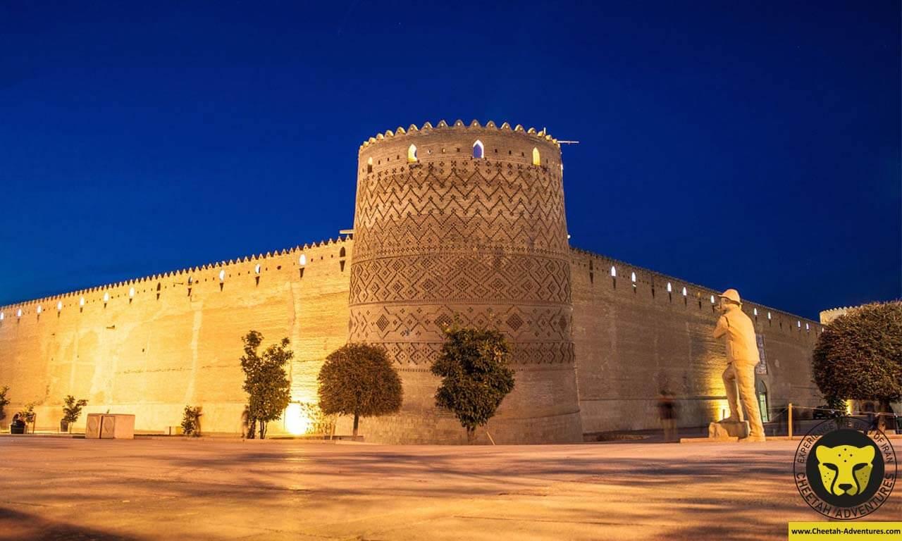 arg karim khan shiraz cultural tour visit iran package cheetah adventures