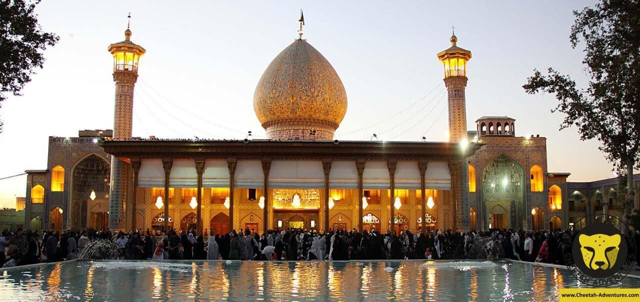 Shah Cheragh holy shrine ( Aramgah-e Shah-e Cheragh)shrine shiraz cultural tour historical visit iran