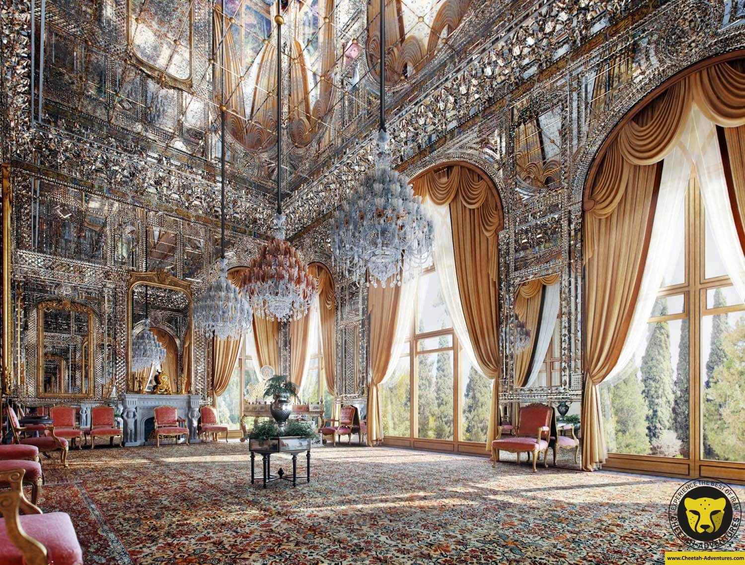 the golestan palace tehran cultural tour iran travel