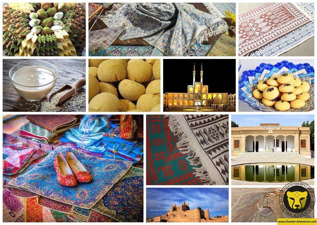 yazd souvenirs travel guide for iran tour package with cheetah adventures