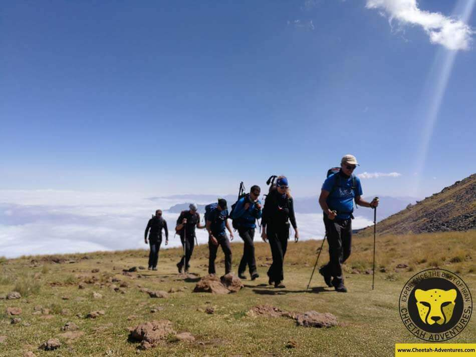 0 Experience a unique Trekking Tour in Iran, Damavand North Eastern Route
