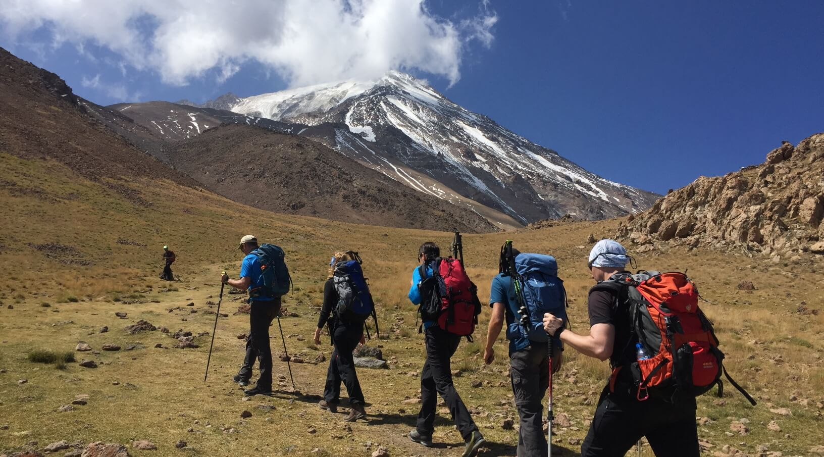 21 Sabze Lash Green Field at 4000m, Damavand North Eastern Route 3