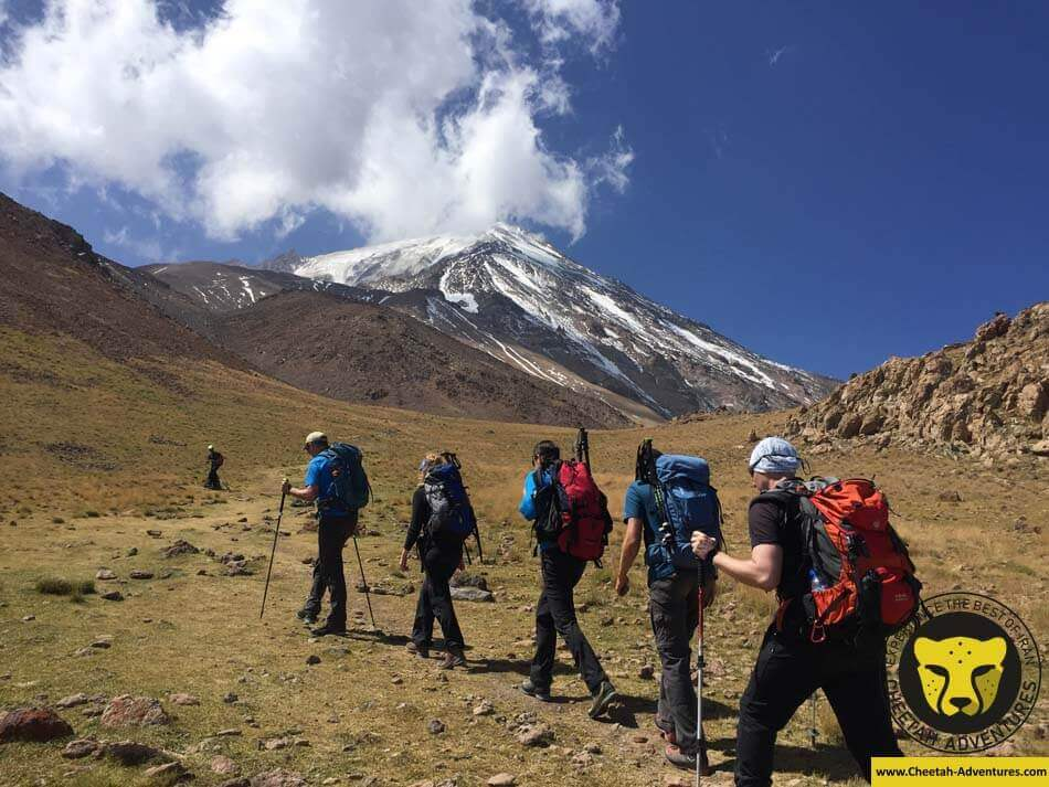 21 Sabze Lash Green Field at 4000m, Damavand North Eastern Route