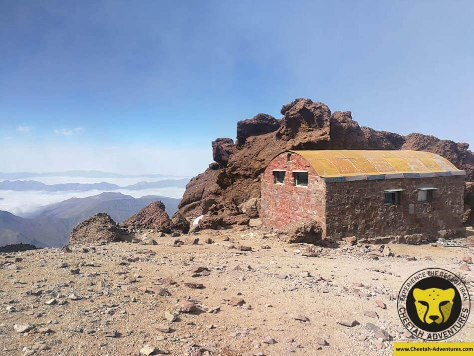 23 Takht-e Fereidoun Shelter (4350m), North Eastern Route of Damavand