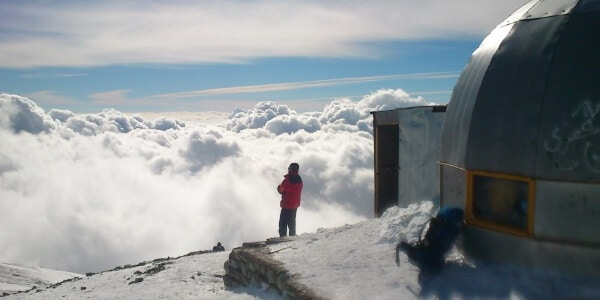 6-Tochal Peak iran travel expedition winter, Tochal Trekking Tour package