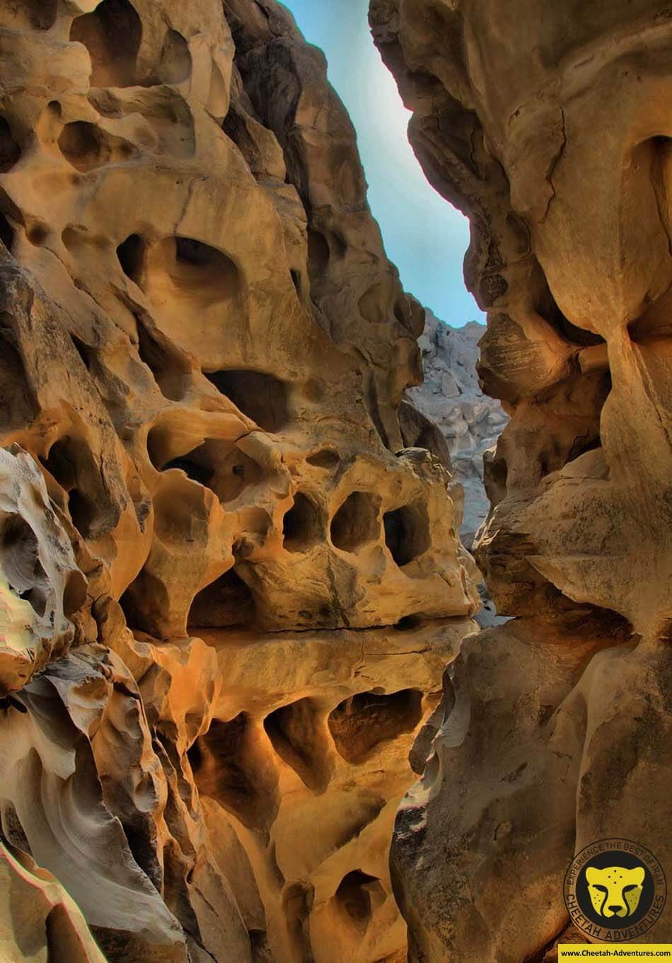 Strait-of-Chahkuh Chahkooh Canyon qeshm iran travel guide visit iran tour