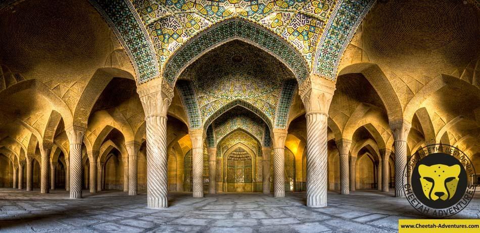 Vakil_mosque_Panorama Shiraz Iran Tour