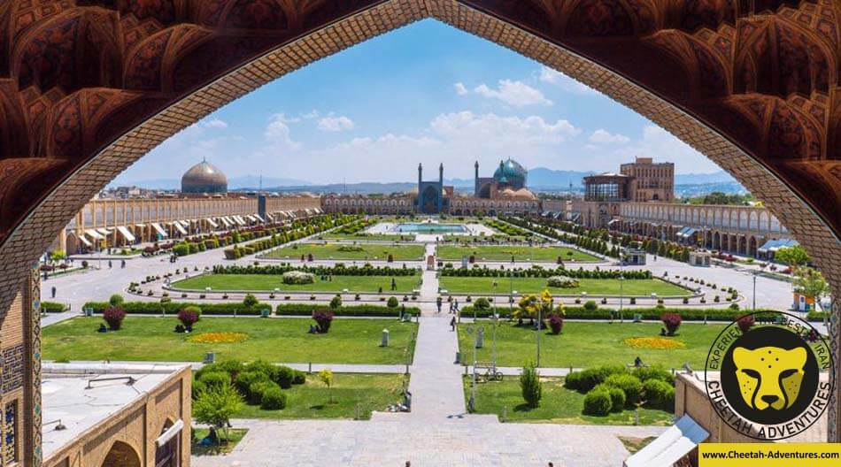naghshe jahan square in Isfahan (Imam Square) Iran cultural tour